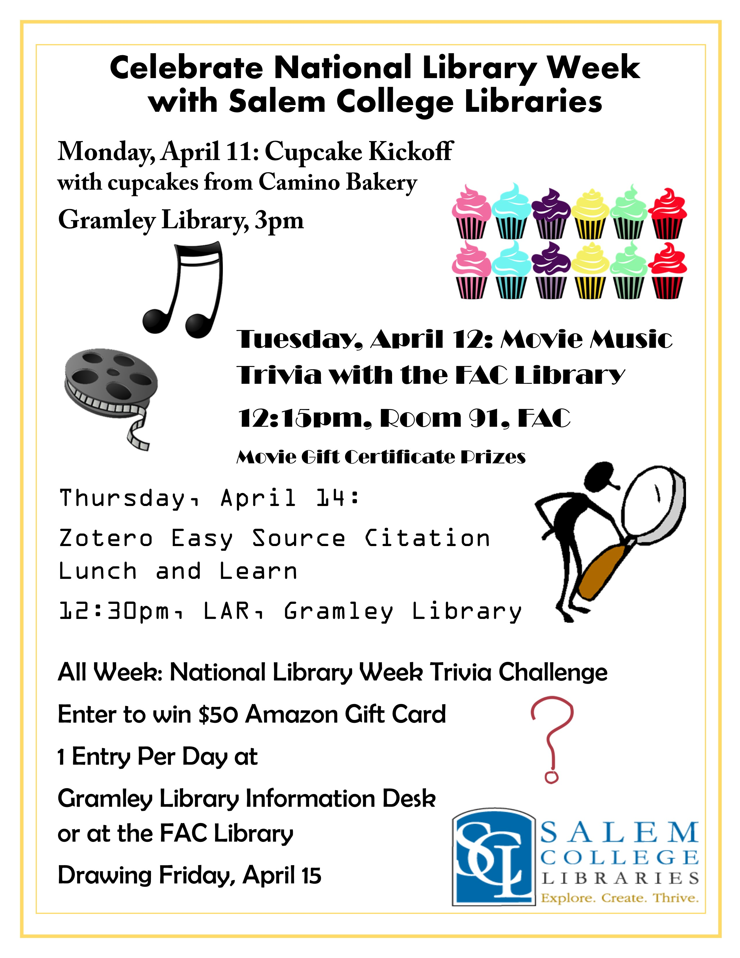 Celebrate National Library Week: April 10 – 16, 2016