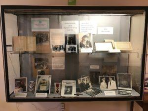 photographs on display
