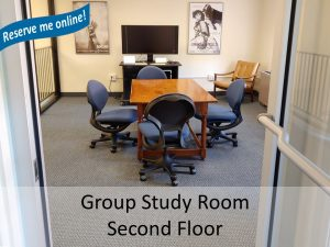 photo of group study room